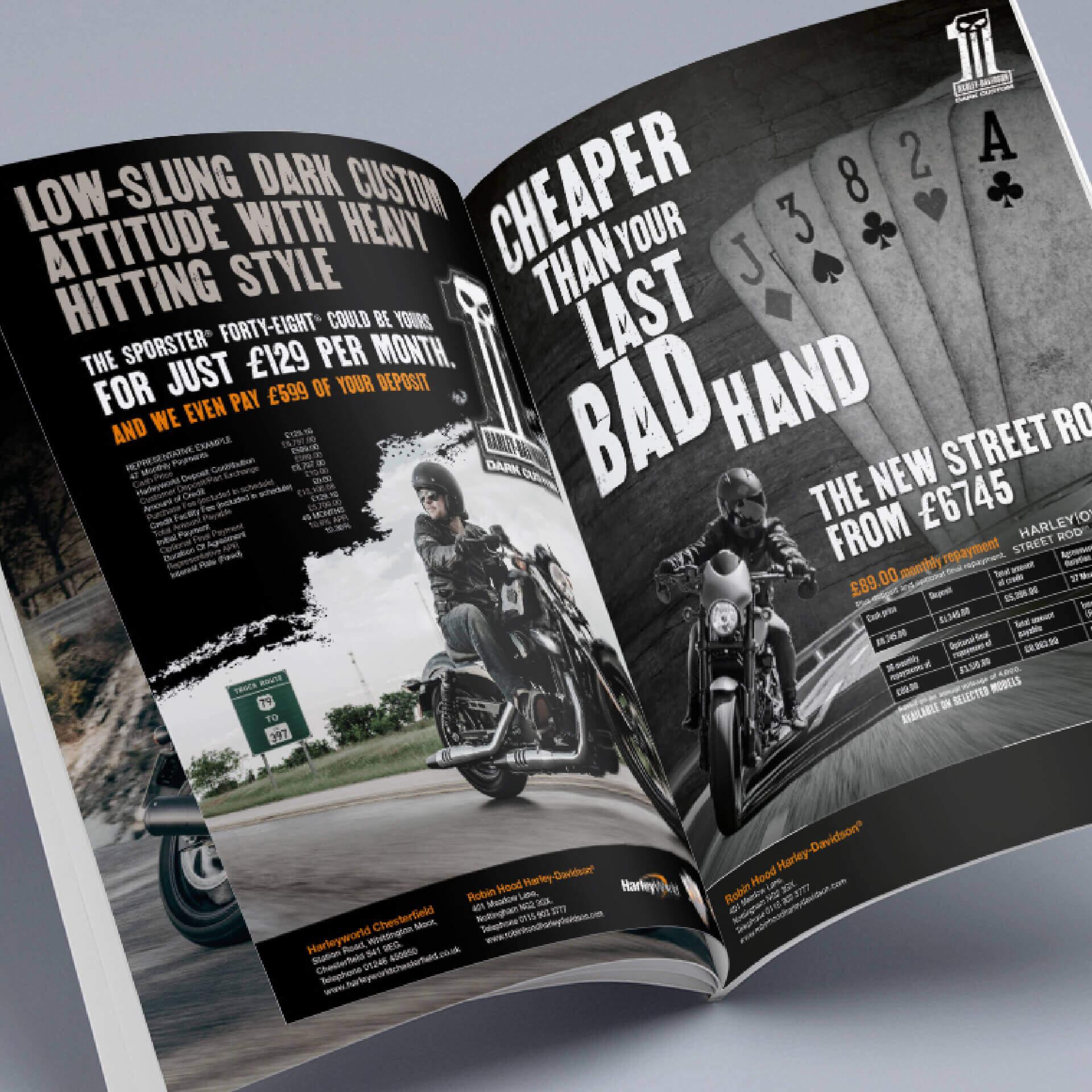 Harley Davidson Magazine
