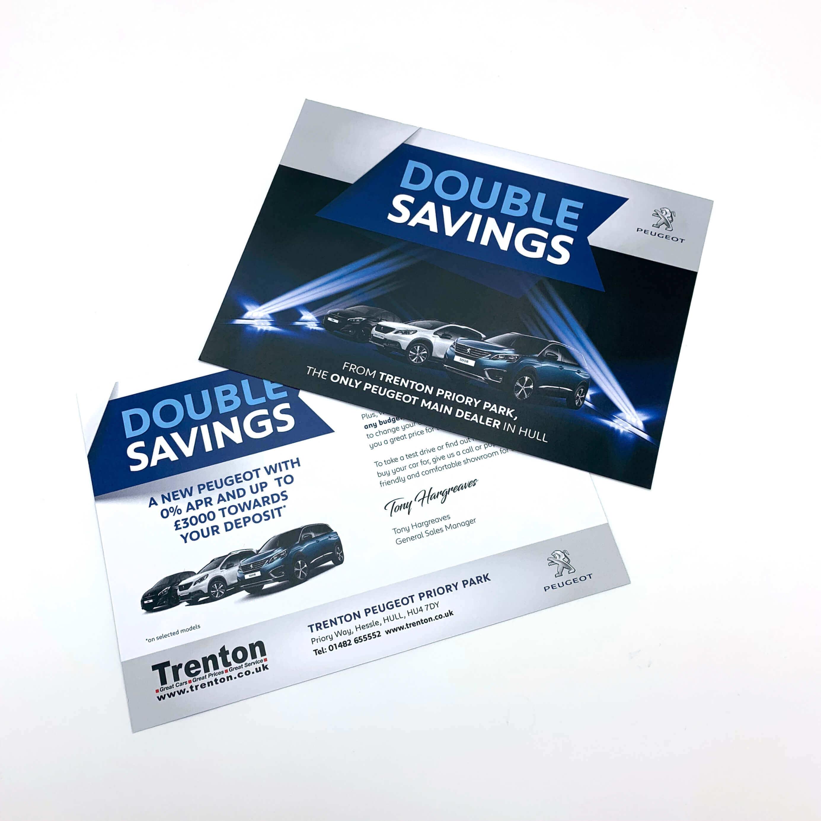 Double Savings Mailers