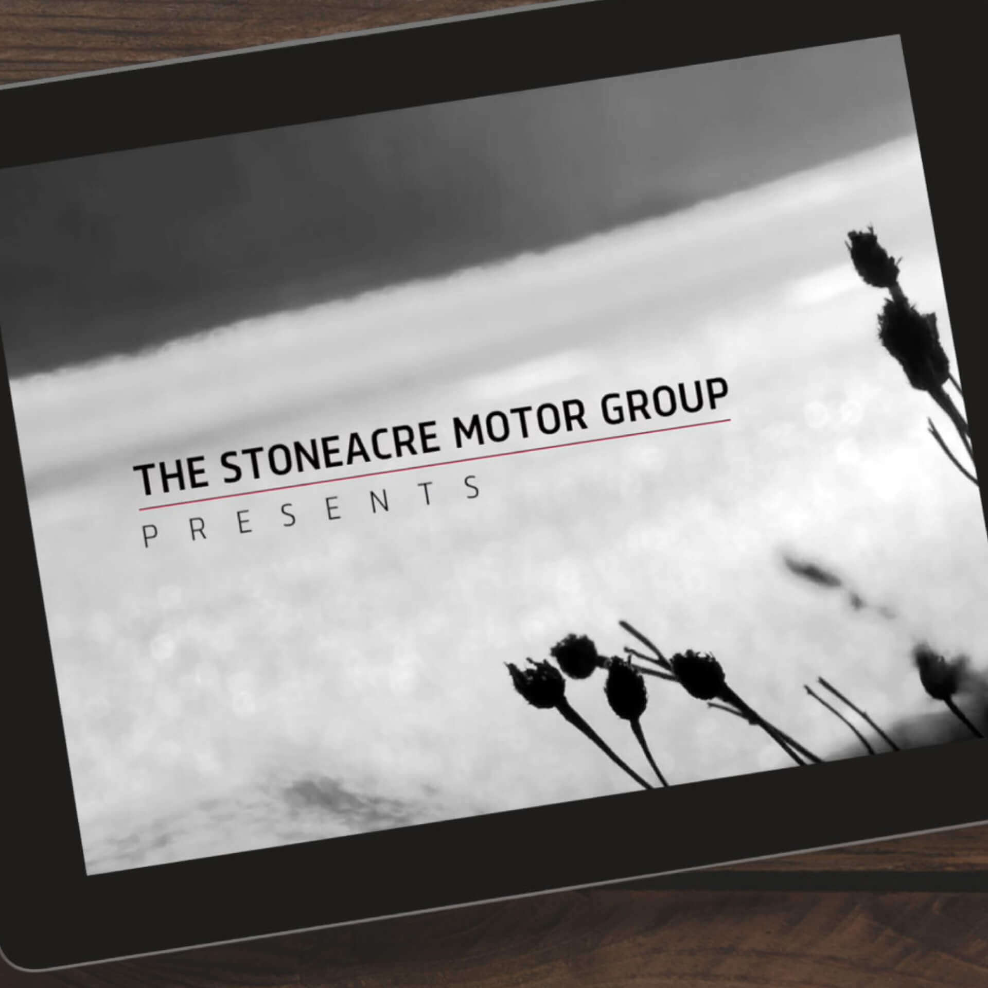Stoneacre YouTube Video on iPad