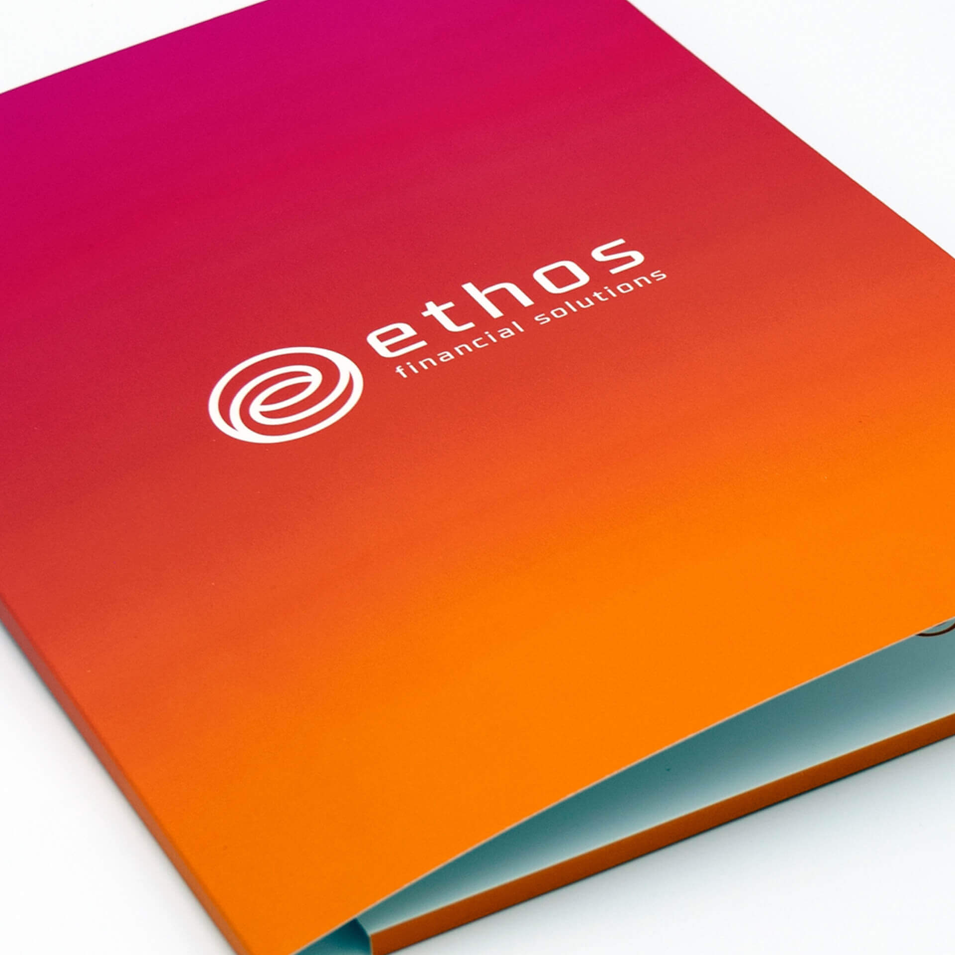 Brightly Coloured Ethos Folder