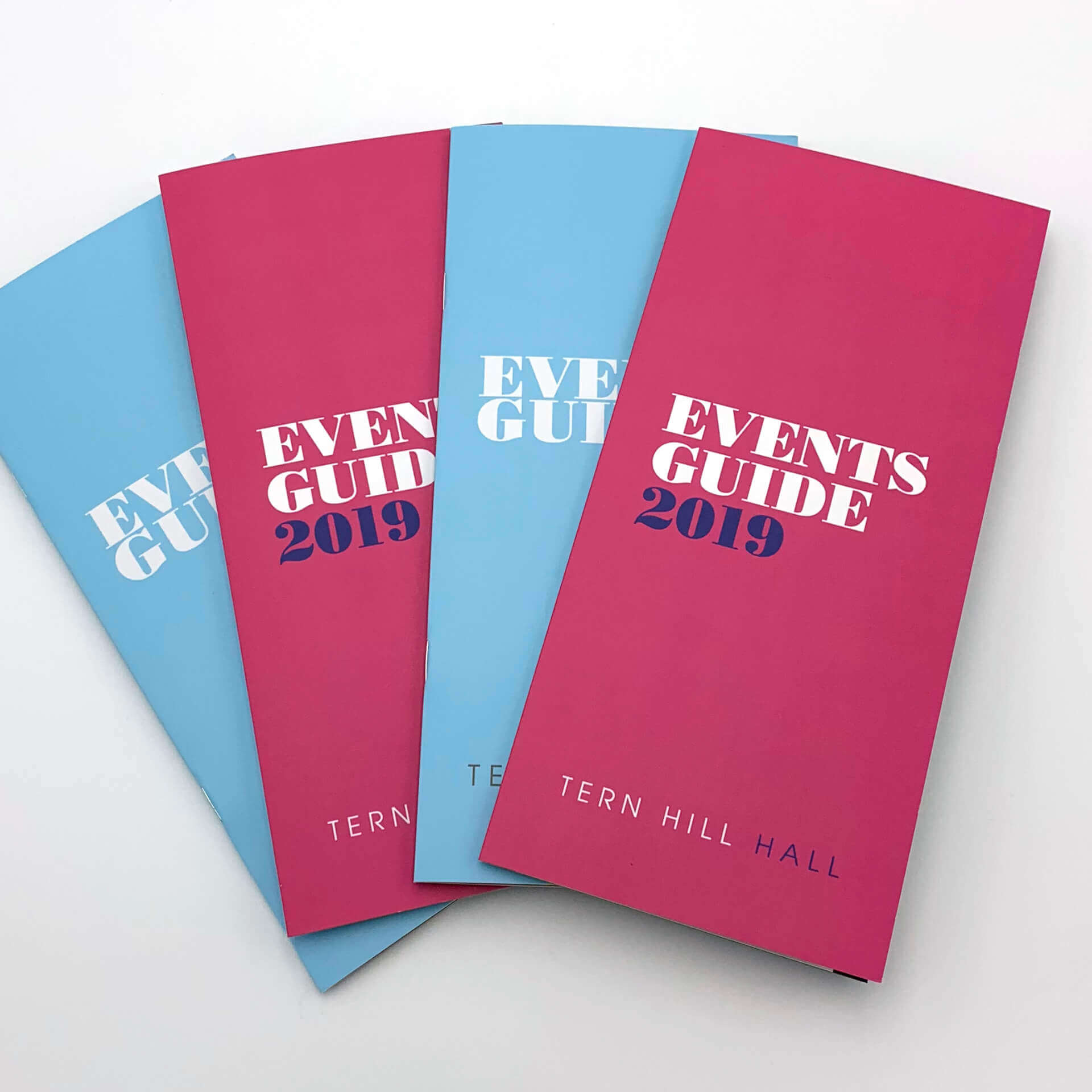 Tern Hill Hall Events Guides and Event Brochures