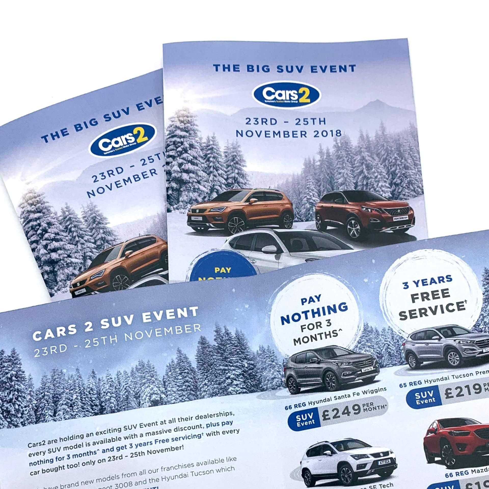 Cars 2 Winter SUV artwork