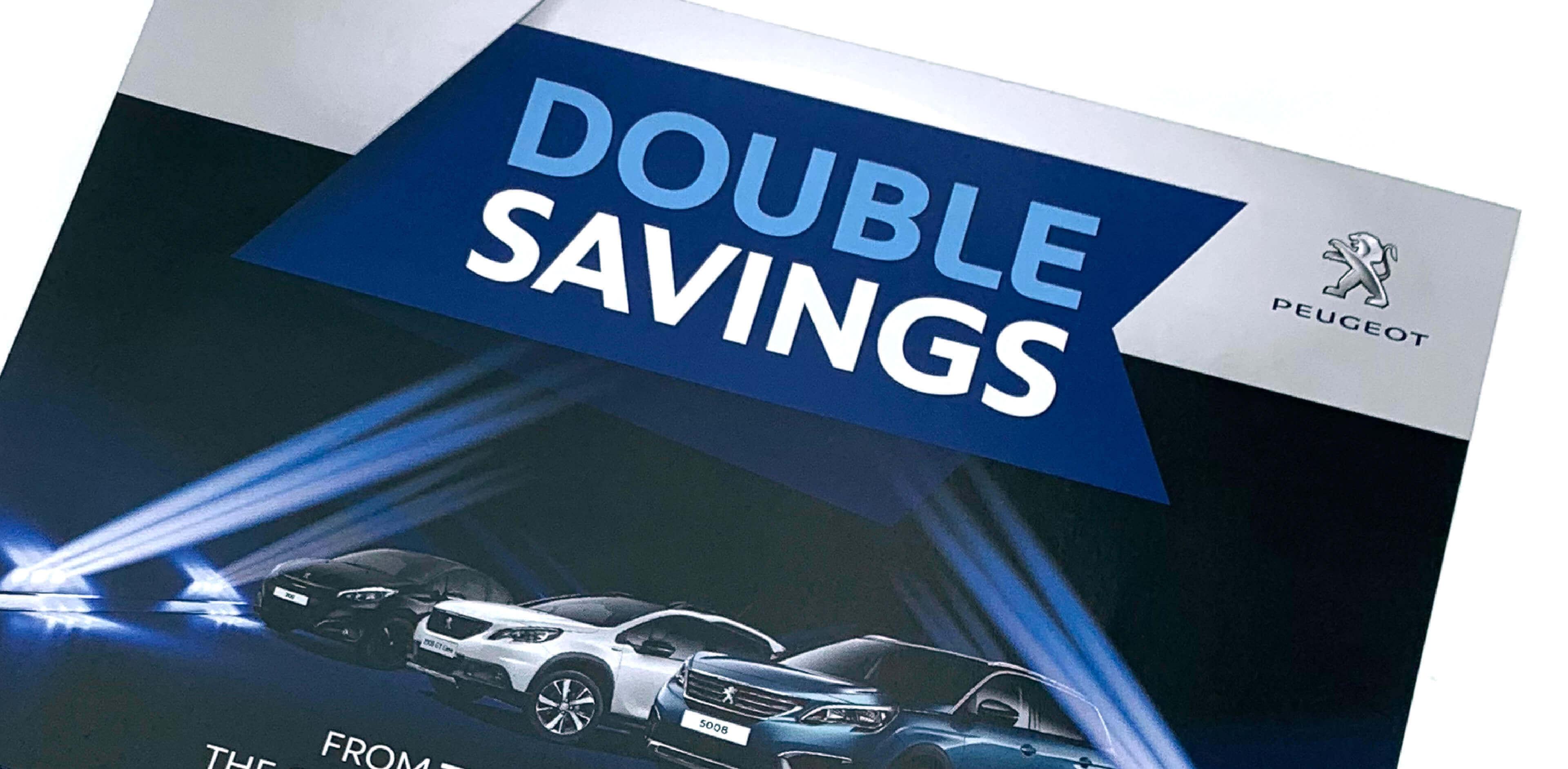 Trenton Double Savings Artwork