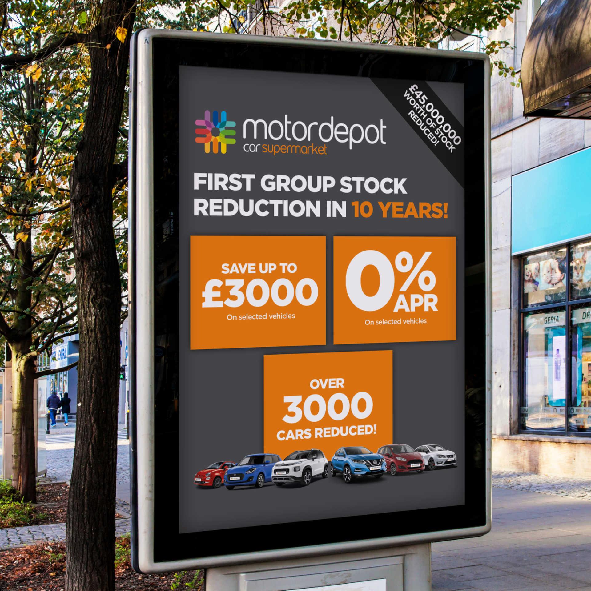 Motor Depot Billboard
