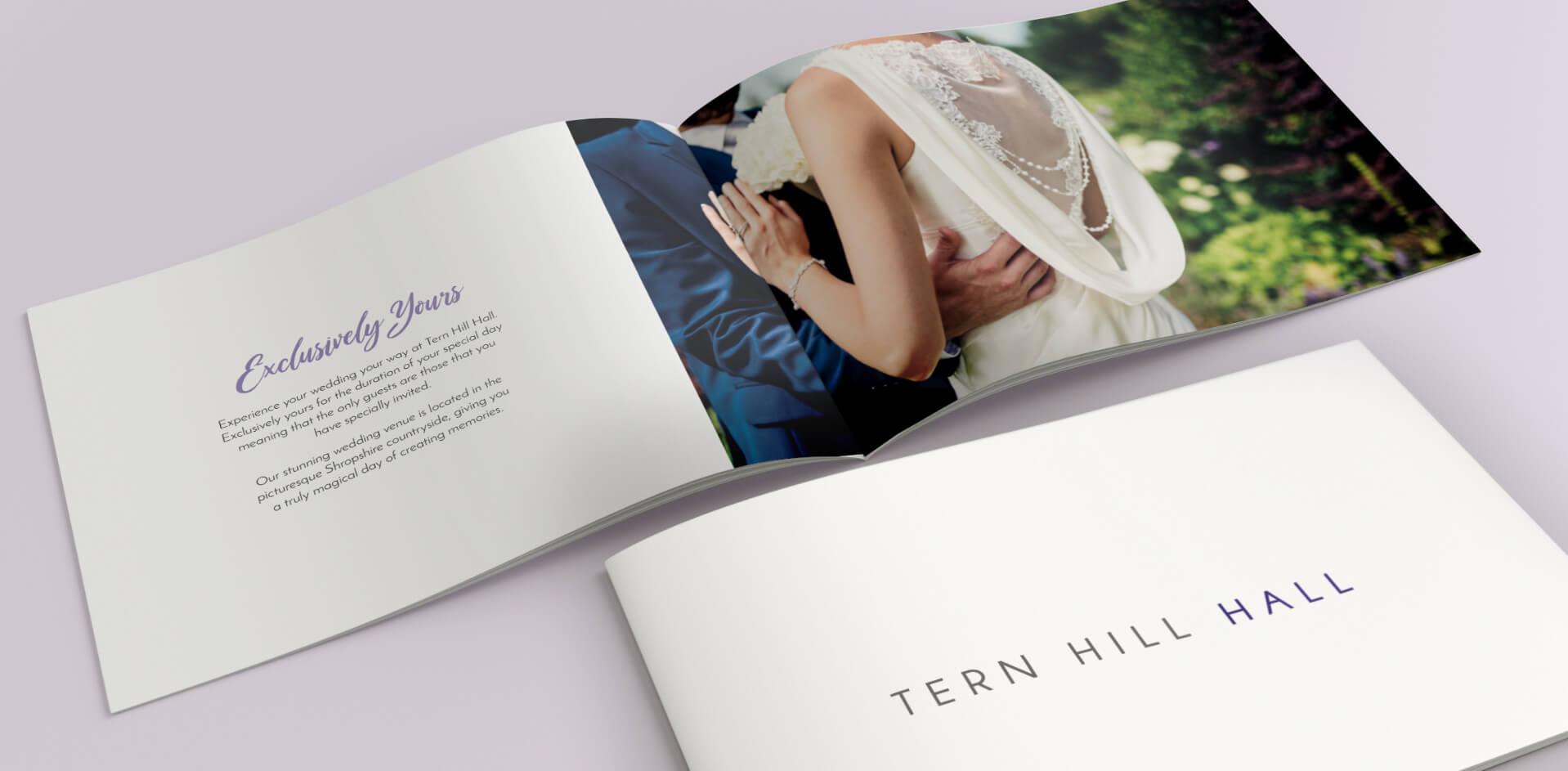 Tern Hill Hall Wedding Brochure