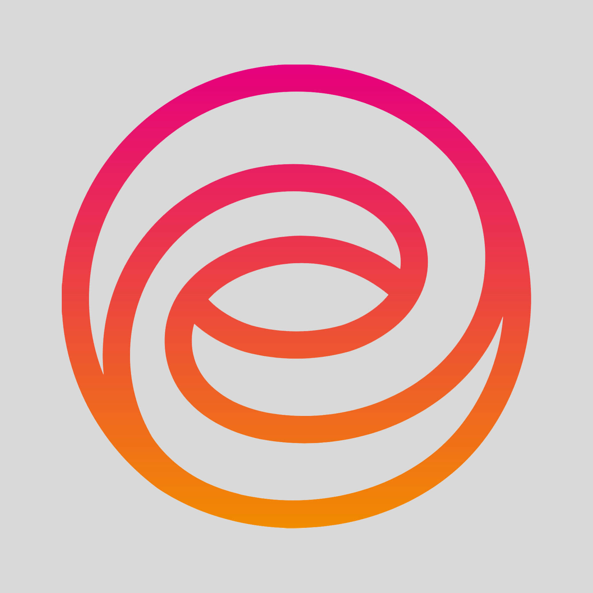 Ethos Swirly Circle Logo