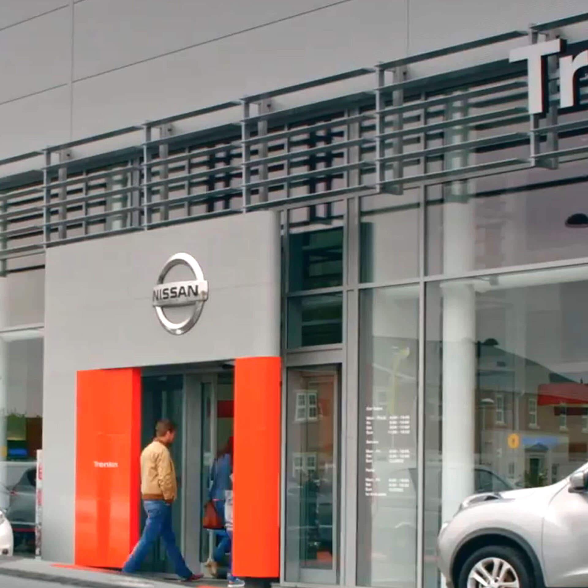 Trenton Motors Showroom